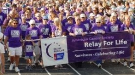 Relay for Life.  August 28 6a-10pm