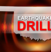Earthquake Drill, Oct 15 at 10:15am.  Stop, Drop & Hold On