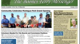 October 2016 Boones Ferry Messenger