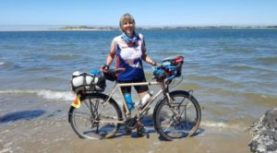 "REMINDER: CWA Luncheon Mar 13 ""A Woman Bicycles Across America – With Acts of Kindness.""  RSVP by Thursday, Mar 9th"