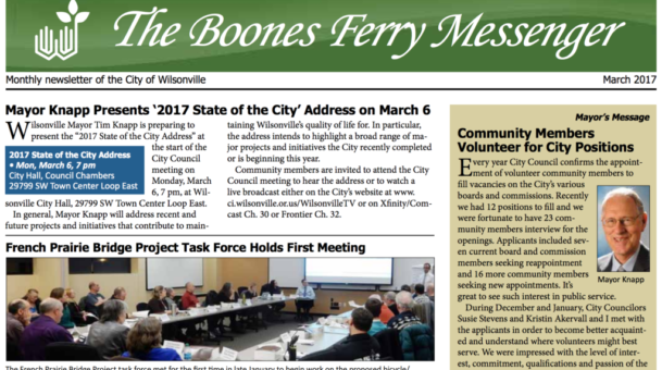 March 2017 Boones Ferry Messenger