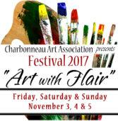 Save the Date: Charbonneau Arts Festival 2017. Nov 3-5th.