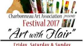 Save the Date: Charbonneau Arts Festival 2017. Nov 3-5th.