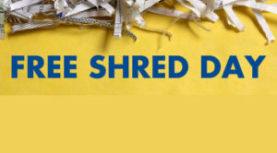 Free Shred Day in Charbonneau. June 10. 10am – 1pm