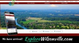 City Launches New 'ExploreWilsonville.com'