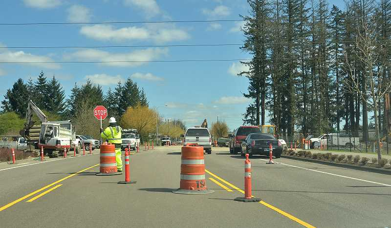 Boeckman Road West of 95th Avenue Reopens July 25