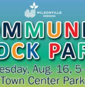 Wilsonville Annual Block Party. Aug 16th.   Town Center Park. 5:00 PM-8:00 PM