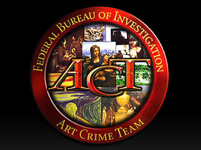 """Sept 26th History Pub: """"Catch a Thief: International Art Theft and the FBI"""" with Lynne McKee, former FBI."""