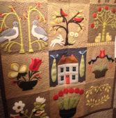 Begins Oct 13th. Don't Miss the 45th Annual Aurora Colony Quilt Show
