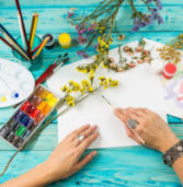 Charbonneau Paint & Pour – Everyone is an Artist.  April 13 at 6pm.