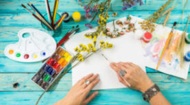 Watercolor Class Begins Feb 13