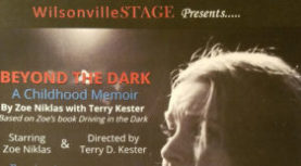"WilsonvilleSTAGE presents ""Beyond the Dark"" FEBRUARY 16 @ 7:30 PM – 9:00 PM"