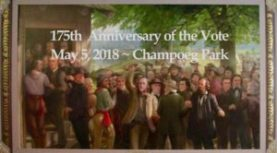 May 5. Founder's Day. Champoeg State Heritage Park. 10am-3pm.