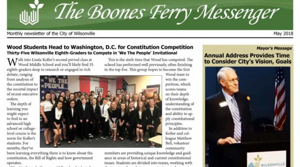 May 2016 Boones Ferry Messenger is online