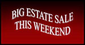 Sept 14-15 Estate Sale at Tony & Susanna's