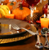 Thanksgiving Dinner at the Community Center.  Nov. 16