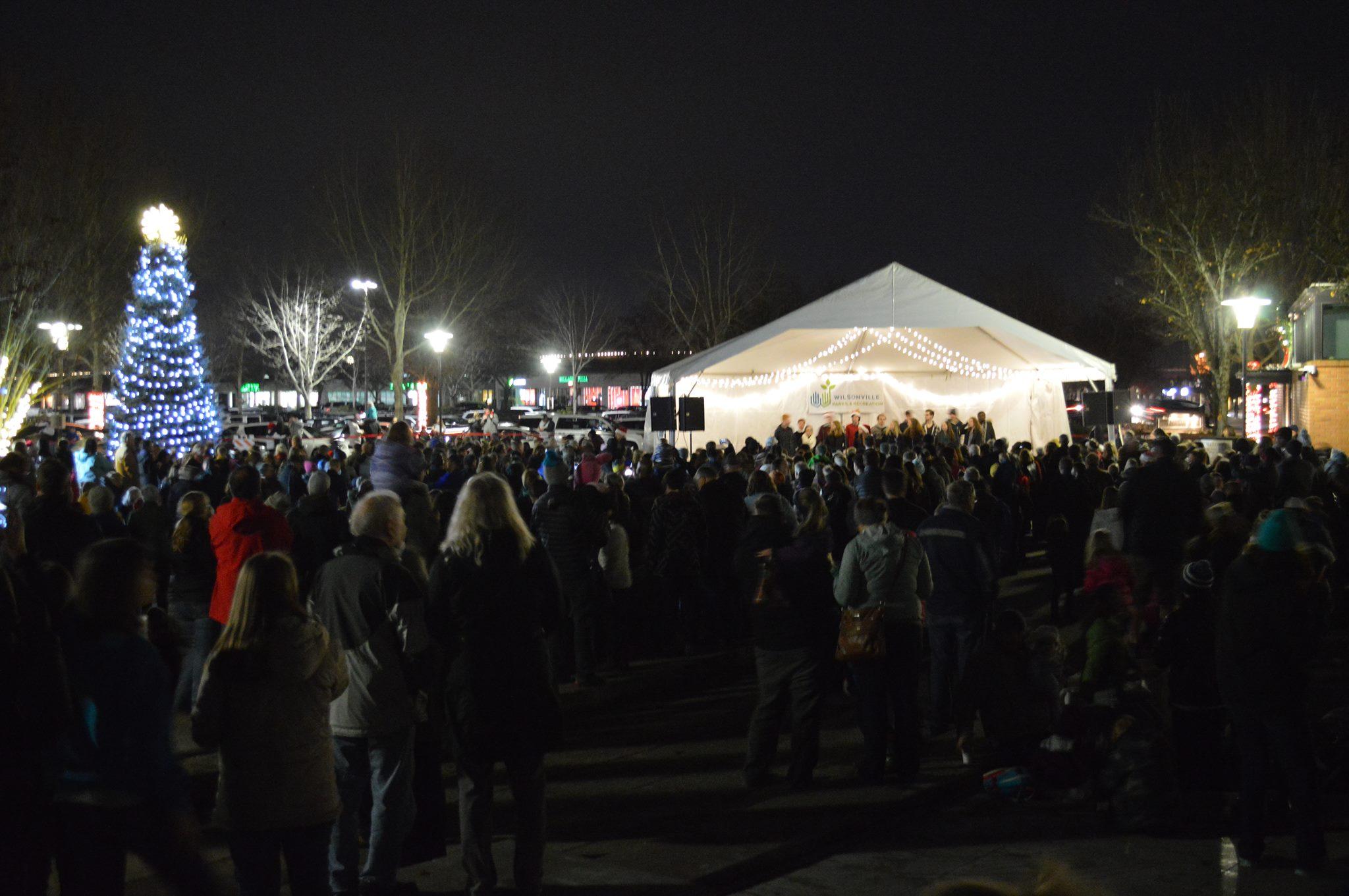Wilsonville Community Tree Lighting. Nov 28 at 5:30pm