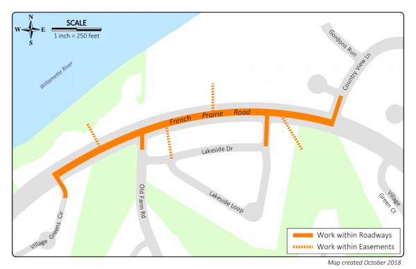 Public Open House. Feb 26 6-8pm: Charbonneau Utility Repair – French Prairie Drive Phase II
