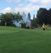 Charbonneau Golf Club Fire Shuts Down Water.