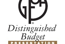 City Receives Award for Distinguished Budget Presentation