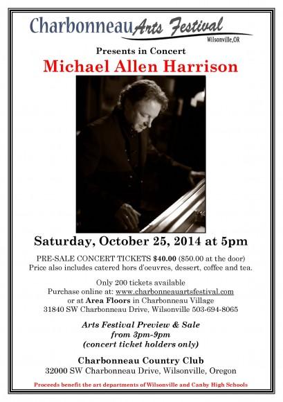Charbonneau Art & Music Show October 25, 2014