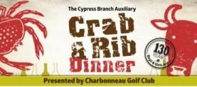 Charbonneau Golf Club Presenting Sponsor of the 12th Annual Crab & Rib Dinner on February 21, 2015!