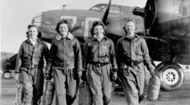 Free Public Lecture: Women Air Force Service Pilots in WWII. Sept 11 at 7pm at the Library.