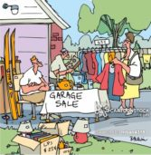 Annual Garage Sales June 23 & 24th.  A Do Not Miss!