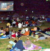 Friday in the Park Movies.  8:15pm.  Begin July 10th.