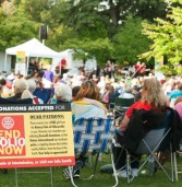 Rotary Concerts in the Park begin July 23rd.